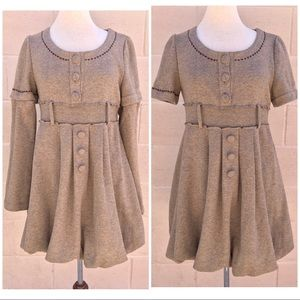 Como No? Anthropologie Outerwear Sweater Dress